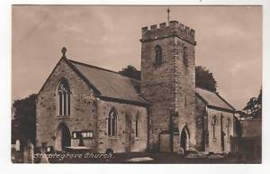 Old photograph of St John the Evangelist, Staplegrove, Taunton